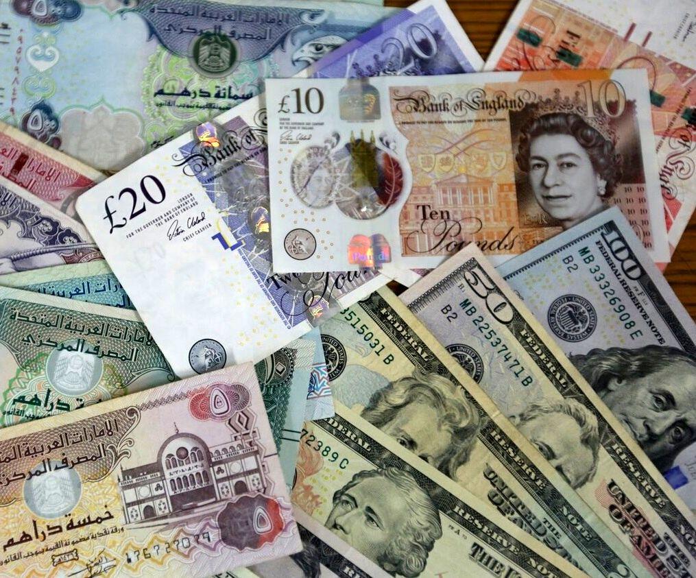 افزایش نرخ رسمی یورو و ۲۰ ارز دیگر