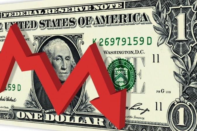 ارزش جهانی دلار به کمترین میزان در دو سال و نیم گذشته رسید