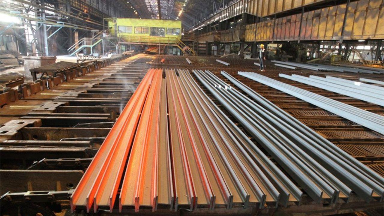 عرضه ۱۰۲ هزار تن تیرآهن و میلگرد در بورس کالا