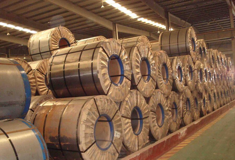 پذیرش ۱۱ هزار تن ورق مجتمع فولاد گیلان در بورس کالا