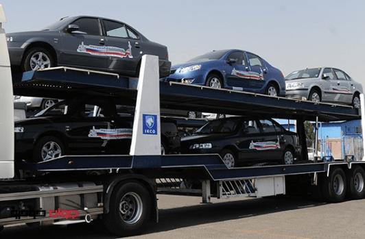 ایران چه خودروهایی را صادر کرد؟