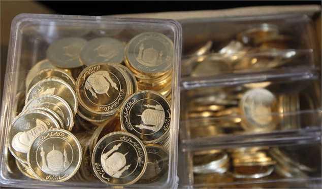 کاهش یکصد هزار تومانی قیمت سکه