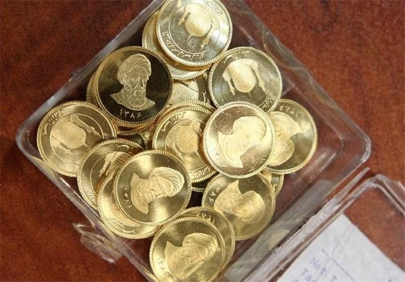 کاهش ۴۰ هزار تومانی قیمت سکه
