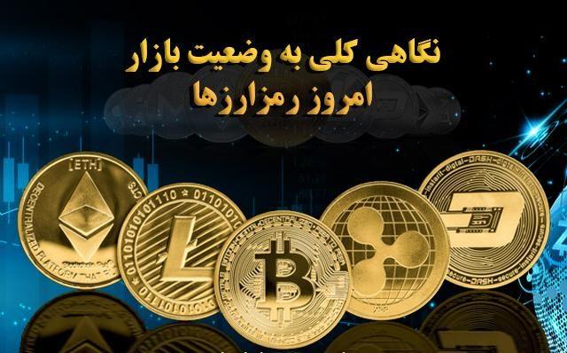 نگاهی کلی به وضعیت بازار امروز رمزارزها (16 اسفند)