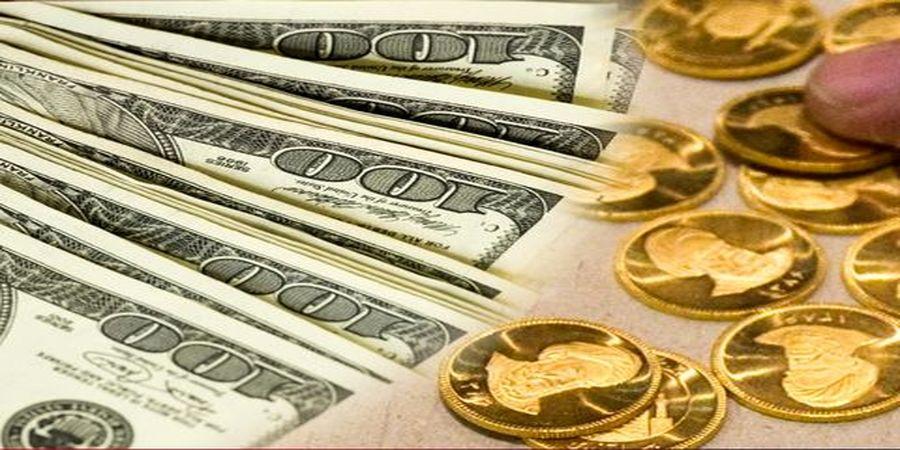 مقاومت دلار بالای مرز حساس | افزایش قیمت سکه