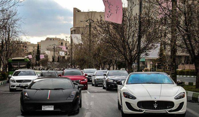 قیمت خودروهای لاکچری در تهران