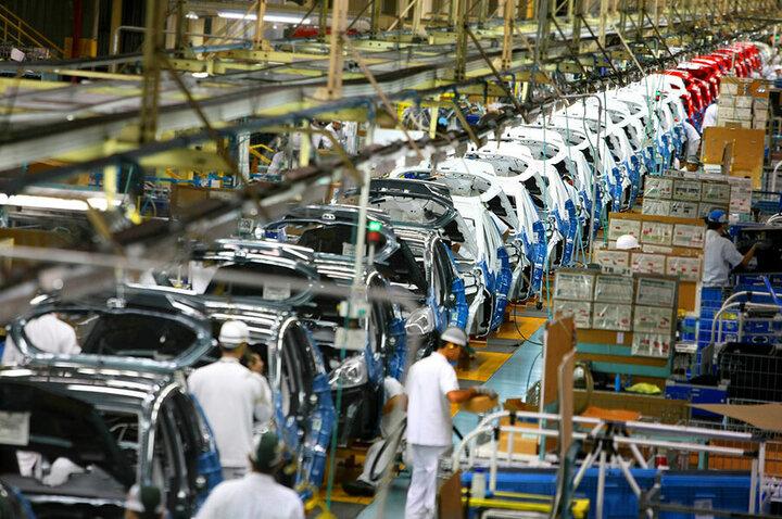 کاهش ارزبری سالانه صنعت خودرو