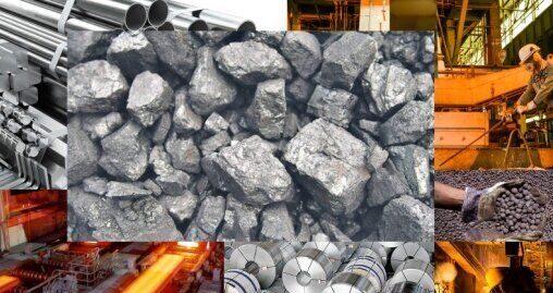 عرضه ۴۴۵ هزار تن فولاد، آهن اسفنجی و سنگ آهن