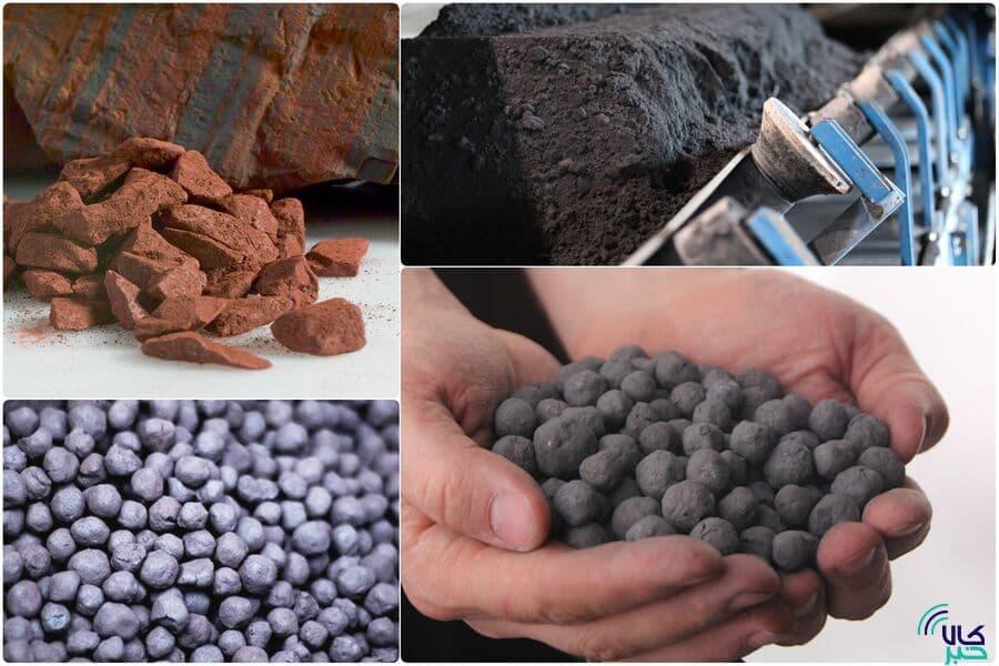 عرضه ۶۶۷ هزار تن آهن اسفنجی و سنگ آهن در بورس کالا